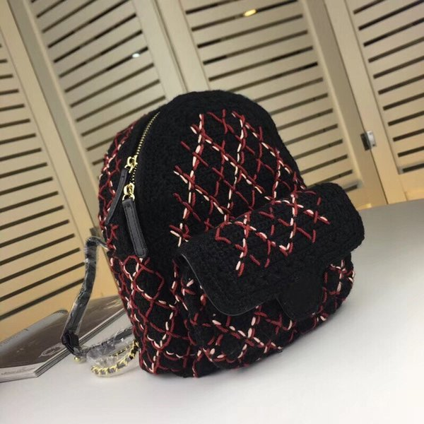 Best selling new luxury brand designer female shoulder bag 2019 quality ladies real leather handbag mini ladies handmade sewing backpack