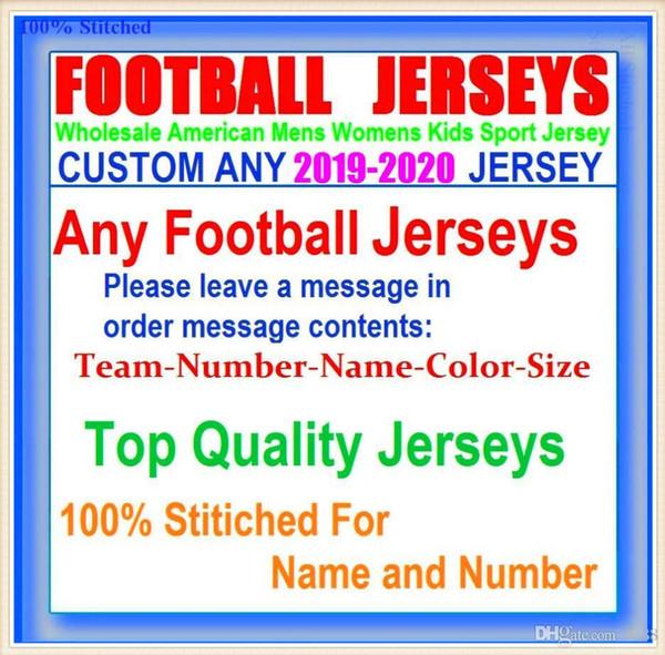 Maillots de football américain personnalisés et unis