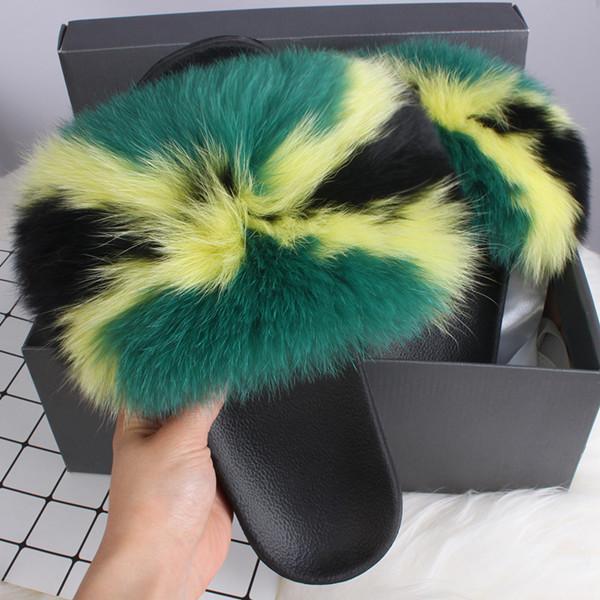 Grün Schwarz Gelb