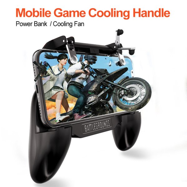 SR Mobile Gaming Game Pad Cooler Cooling Fan Fire FOR PUBG Mobile Game Controller Gamepad Joystick for iPhone Smartphone