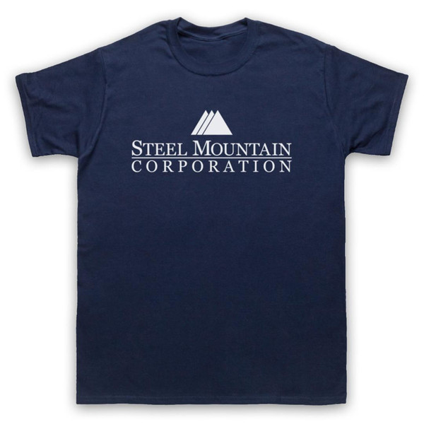 STEEL MOUNTAIN CORP ROBOT UNOFFICIAL MR. CYBER HACKING HACKER T-SHIRT ALL SIZES