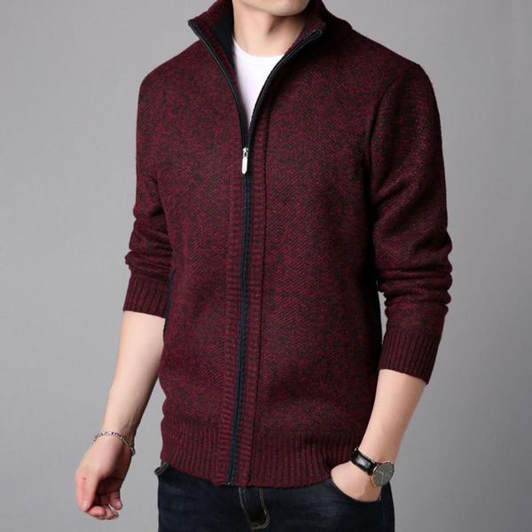 2019 New Fashion Autumn And Winter Style Windbreaker Jacket Men's Collar Trend Street Wind Coat Cardigan Casual Jacket
