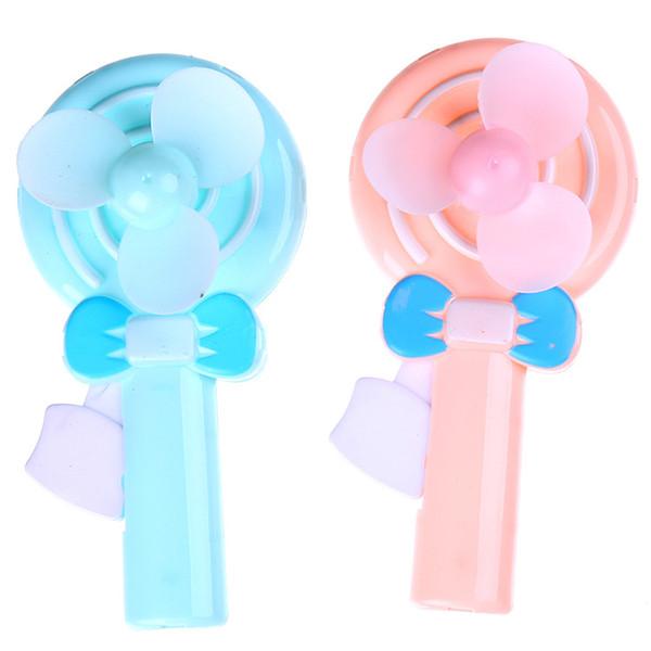 10PCS Back to school gift lollipop manual hand fan Kids happy birthday party favor return gift party souvenir supply