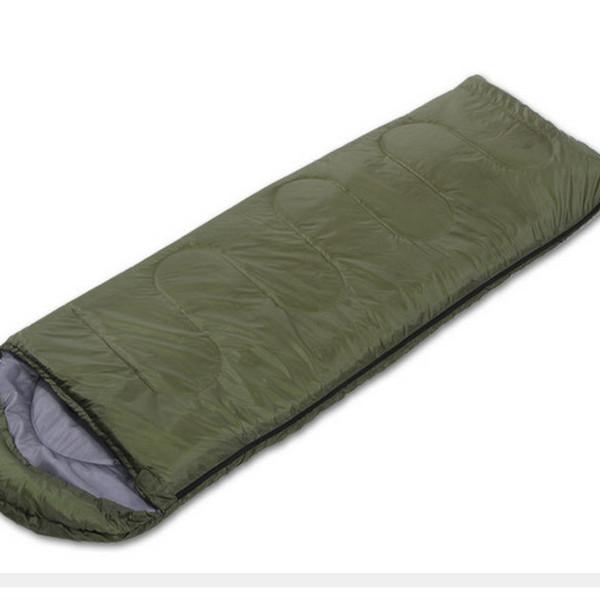 Açık yetişkin kapüşonlu zarf ilkbahar ve sonbahar uyku tulumu çadır özel uyku tulumu