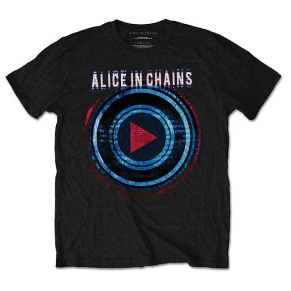 Alice dans les chaînes Layne Stayley Jerry Cantrell 1 offiziell Herren T-shirt