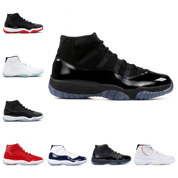 Hot Sale Basketball Shoes 11s Corcond Gamma Blue Platinum Tint Cap And Gown Space Jam Designer Mens Women Sports Sneakers