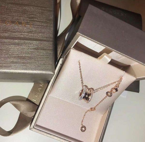 O novo glamour moda jóias deusa selvagem para as mulheres swarovski sterling silver necklace mulher medalhão