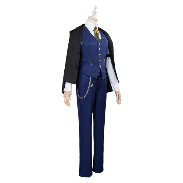 Azur Lane Cleveland Knight Night Cosplay Costume Uniform Outfit Halloween Carnival Costumes For Adult Men Women Custom Made