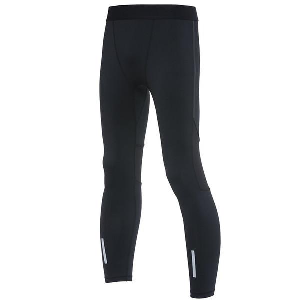 Mens Gym Compression Leggings Sport Training Pants Dry Fit Tights Fitness Basketball Jogginghose