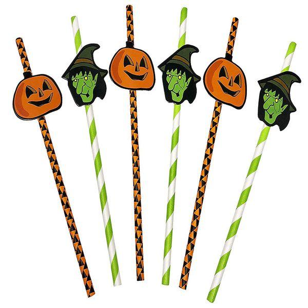 Cadılar bayramı Temalı Geri Dönüşümlü Kağıt Parti Payet Jack-O-Fener ve Cadı Tasarımları ile Parti Malzemeleri Cadılar Bayramı Dekorasyon JK1909