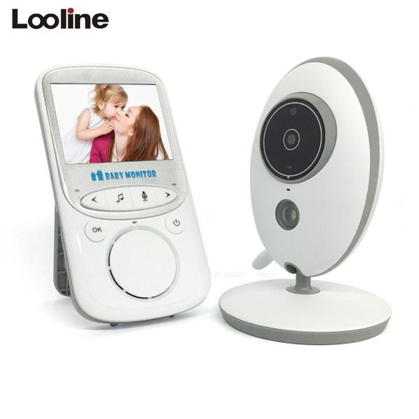 2-Way sans fil parler bébé écran LCD écran Vidéo Caméra Affichage de la température baby-sitter