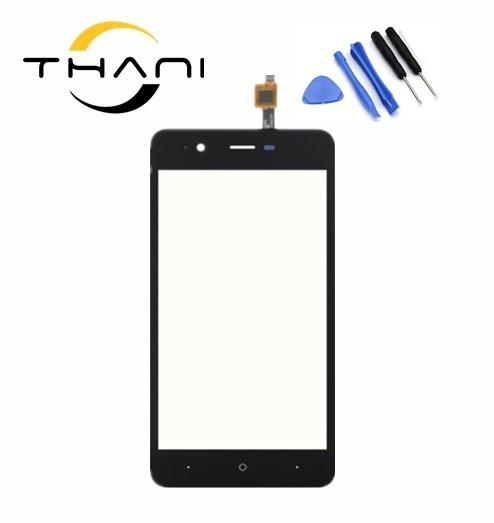 """Thani 5""""inch for wiko kenny Touch Screen Glass Touch Screen Panel Perfect Repair Parts free shipping+tools"""