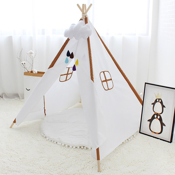 on sale ee112 b7db0 Oxford Cloth Baby Tipi Tent Kids Teepee House For Children Wigwam Indoor  Outdoor Play Room For Child Toys Photography Props Tents And Tunnels For ...