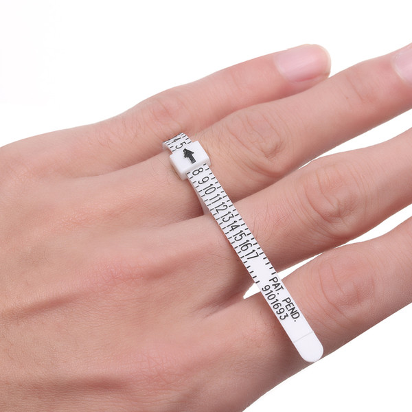 1PC High Quality Ring sizer UK/US Official British/American Finger Measure Gauge Men and Womens Sizes A-Z Jewelry Accessories