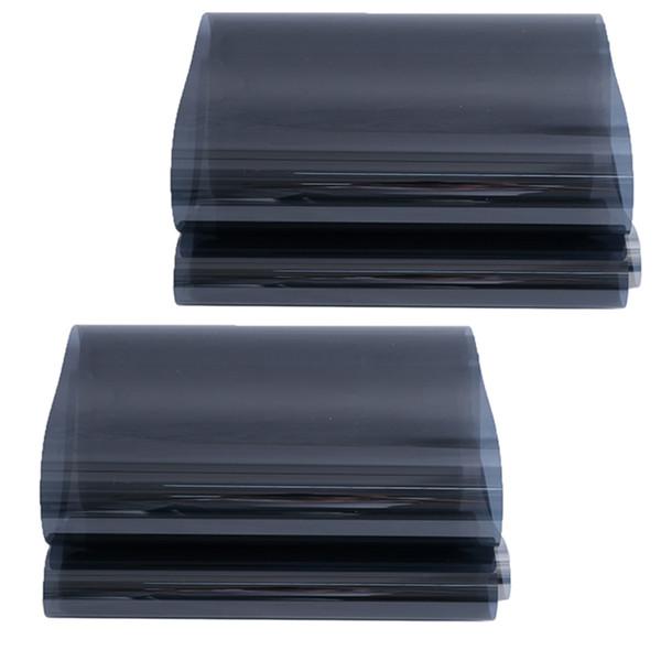 top popular 2 Pcs Heat Control Adhesive Building Window Film Blocking Film Platinum Ash 2021