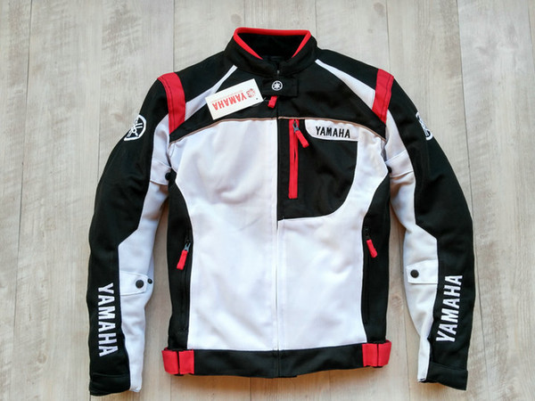 Summer Mesh Motorcycle Jackets Moto Racing Windproof waterproof Jackets fit for Yamaha Motor With 5pcs Protectors Men MotorbikeB