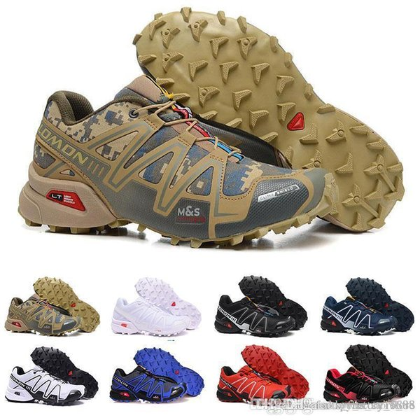 salomon speedcross 3 camouflage khaki shoes