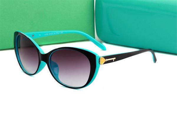 Kadınlar tasarımcı güneş gözlüğü lüks occhiali da sole moda bayanlar güneş gözlükleri yüksek kalite kılıfları ile sürüş uv400 galsses