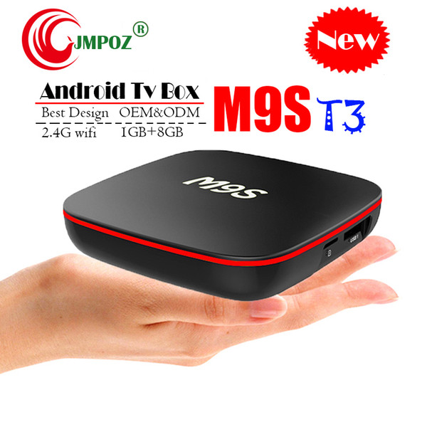 Original Quad Core Android TV Box M9S T3 Quad Core 1GB 8GB 4K H.265 1080P Video Streaming H3 Android TV Boxes Better MXQ PRO RK3229 2GB
