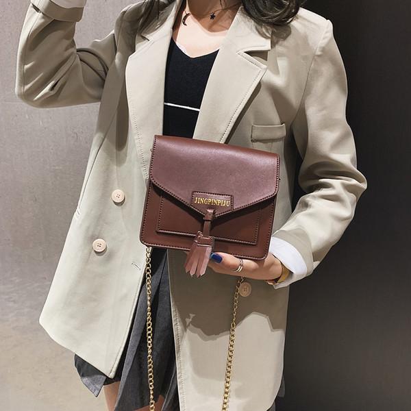 Femmes Joker Messenger Bag Sac à bandoulière Fashion Small Square