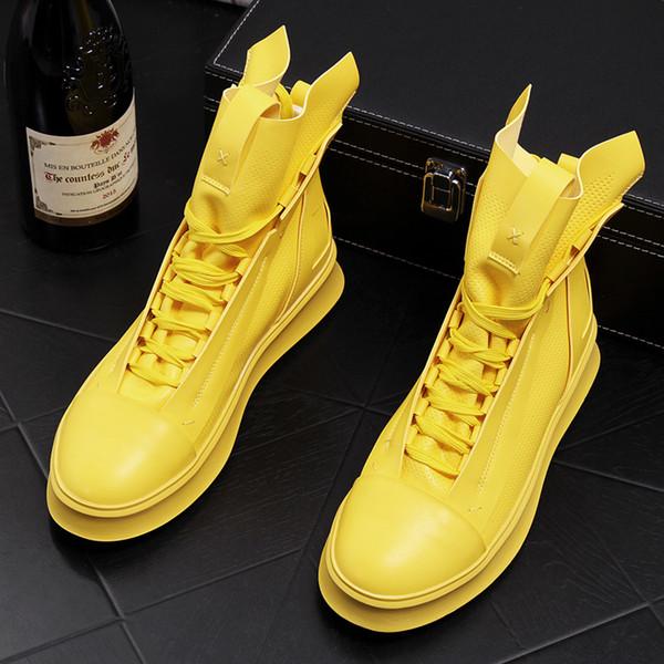 De alta calidad para hombre banquete casual vestidos de baile zapatos de cuero genuino diseño de tendencia simple martin botas de tobillo primavera otoño sapatos