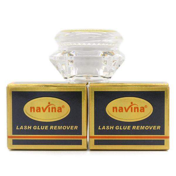 Navina 5g/Pcs Individual Packed Lash Glue Remover No Stimulation Eyelash Glue Remover False Eyelashes tools Free DHL