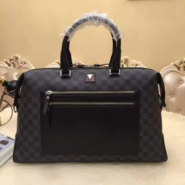 2019 M6090 Plain bezerro Homens Handbag Briefcase Bolsas Bolsas de Ombro Hobo Bolsas Top Alças Boston Corpo Cruz do Messenger Bolsas de Ombro