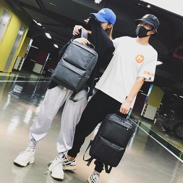 Lucky2019 Women And Men General Purpose Magic Power Both Shoulders Package Trend Travel Backpack Student A Bag