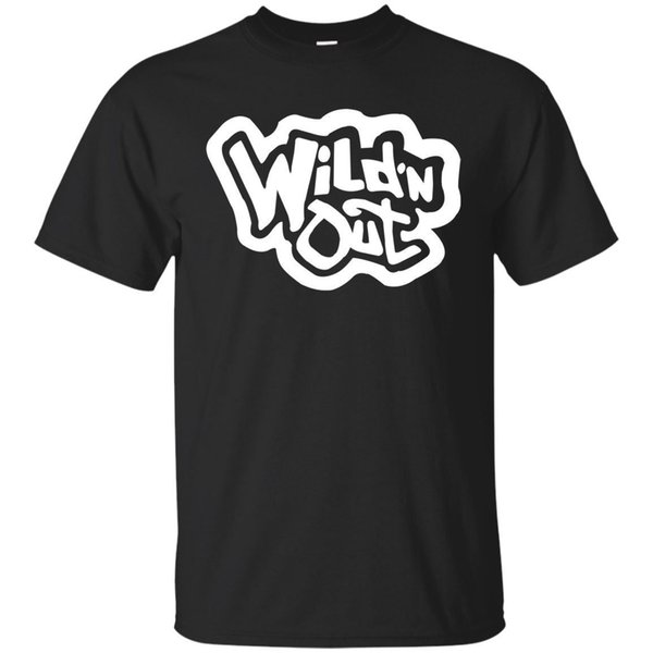 Black Navy Color Wild N Out Youth T-Shirt Classic Quality High t-shirt Style Round Style tshirt Tees Custom Jersey t shirt