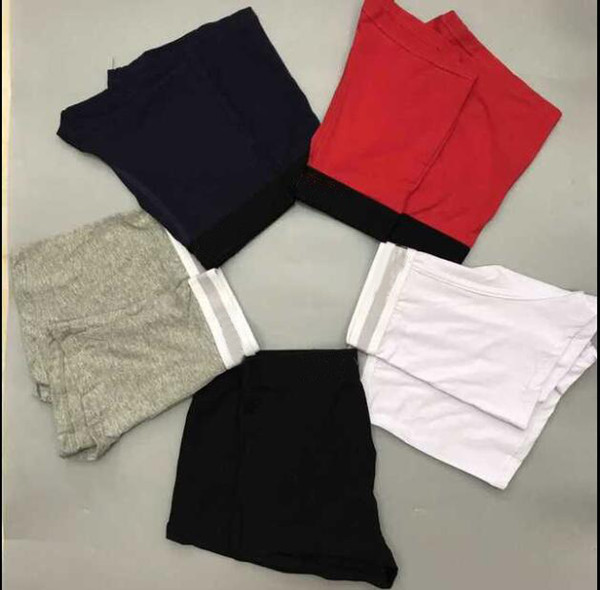 best selling M-XXL 5pcs lot Mens Boxers Shorts Underwear For Man Underpants Men's Famous Sexy Underwear Casual Man Breathable Male Gay Underwear Shorts