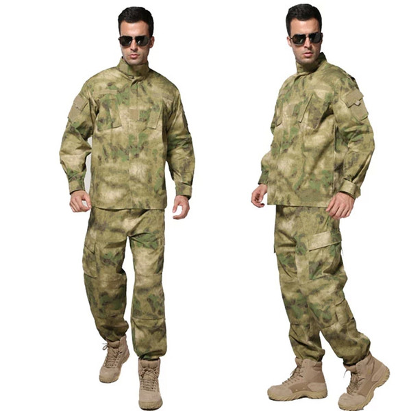 A TACS FG Kryptek Typhon tactique uniforme Camo Combat Uniform BDU camouflage Champ Set Veste Pantalon Army Men