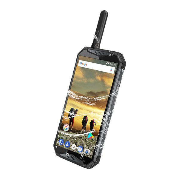 IP68 À Prova D 'Água Android 4G LTE Walkie Talkie 3 T Poc Rádios Telefones UHF + DMR Rede Intercom Telefone Inteligente Zello REAL PTT