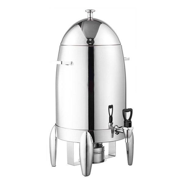 Leite de café manter Quente Tripé Máquina De Suco De Bebidas Recipiente De Aço Inoxidável Buffet Suco De Bebida De Frutas Dispensador