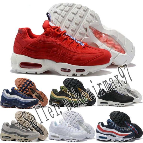 Großhandel Nike Air Max 95 Airmax Hombres Mujeres Zapatos