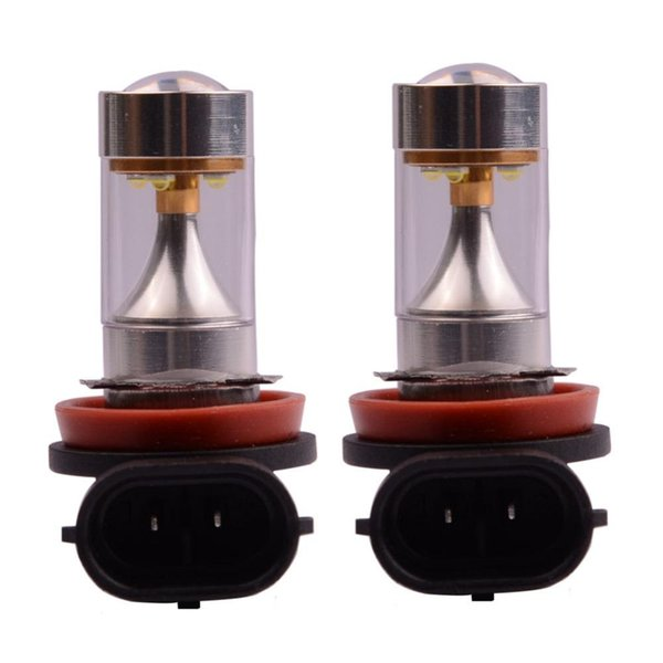 High Power H8 LED 30W XBD 6SMD Auto Fog Lamp Light DRL Daytime Running Driving Car Headlight Xenon White DC12V Car Styling