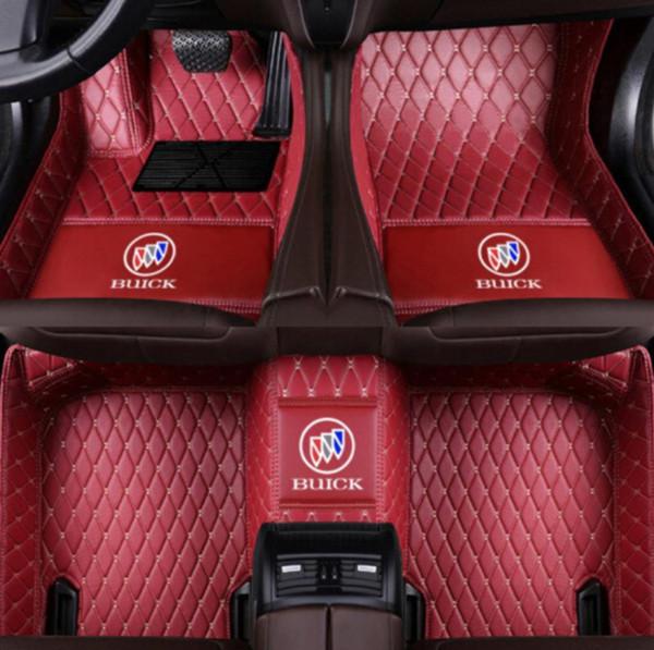 Pour Buick Royaum 2004-2005, intérieur mat en polyuréthane, entouré de matériaux écologiques