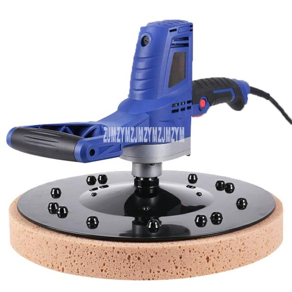 top popular 700F Cement Mortar Smearing Machine Smoothing Machine Electric Hand-held Wall Polishing Smoothing Compaction 220V 110V 2021