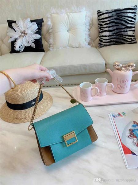 Дизайнерская сумка через плечо Gi Handbag Цепные сумки Модная роскошная сумка через плечо Кошелек Конверт Сумки Дизайнерская сумка для покупок