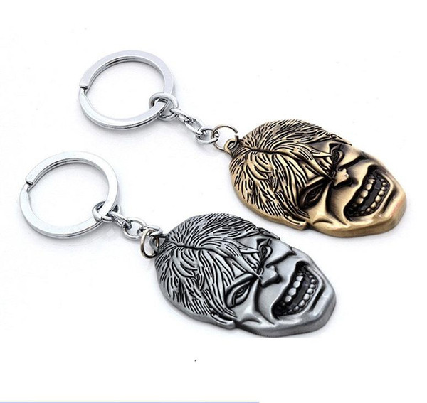 Hot Moives Jewelry The Avengers Keychain Super Hero The HULK Mask Key Chain Metal Pendant Keychains Keyring Free Shipping
