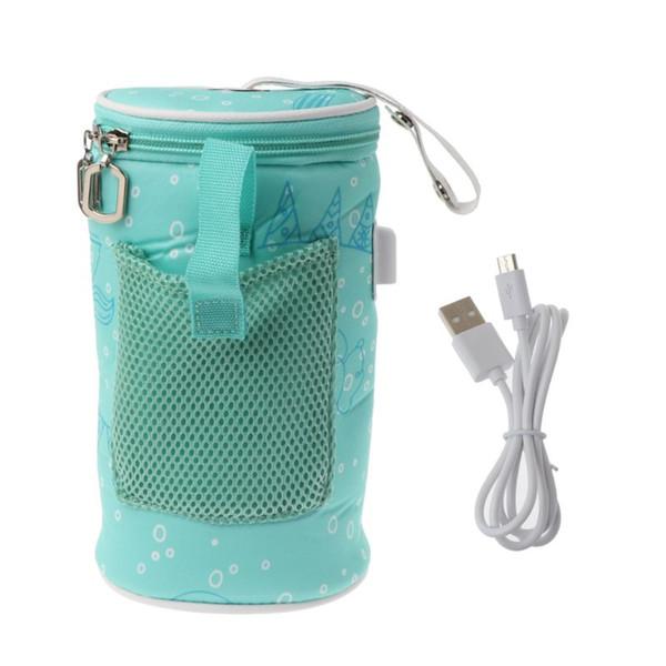 USB Baby Milch Thermostat Tasche Flaschenwärmer Babyflaschenwärmer Heizung Isolierte Tasche Reisebecher Tragbare In Auto Heizungen Trinken Warm