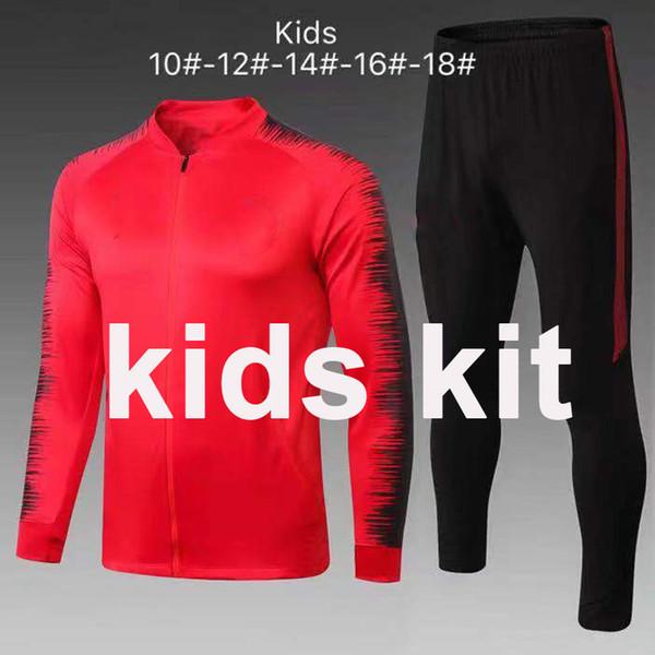 E265 # 1819 Kinder Kit Rote Jacke