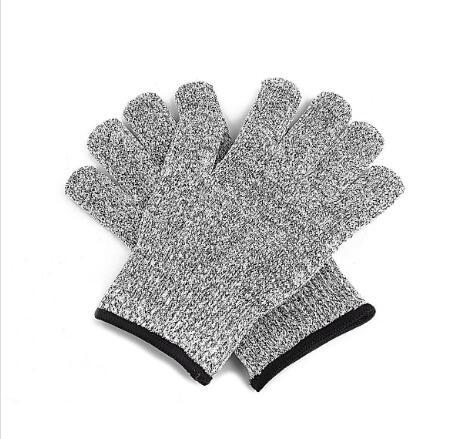 Safety Anti Cut Resistant Gloves Cut Proof Stab Resistant Metal Mesh Butcher Gloves Food Grade Level 5 Kitchen Tools