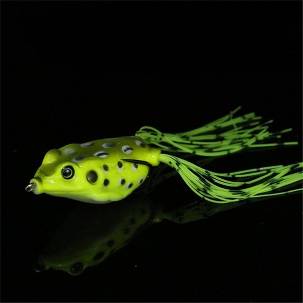 1pcs 4cm 6g Soft Small Jump Frog Enticement Lures Silicone Bait For Crap Fishing Tackle Wobblers Crankbait New Jig Luse