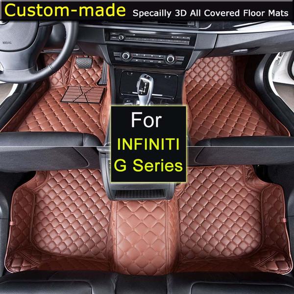Car Floor Mats For Infiniti G35 G25 G Series V63 G37 Coupe Cv36