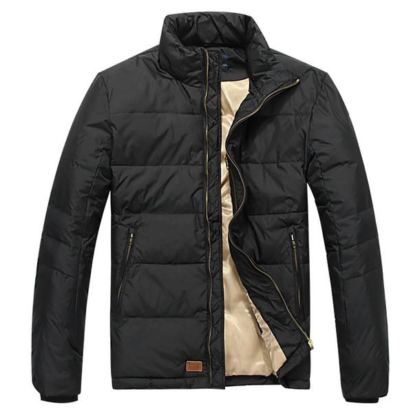 2019 neue weiße Duck Down kleines Pferd Polos Jacket Men Winter warm Marke Daunenmantel Männer Marken-Kleidung Qualitäts-Padded Parka