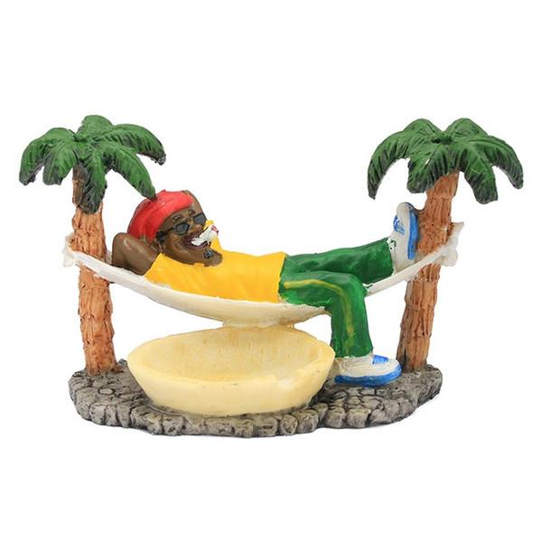 Compre Resina Cinzeiro Reggae Para Casa Escritorio Bob Marley