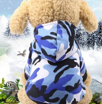 # 4 겨울 개 옷
