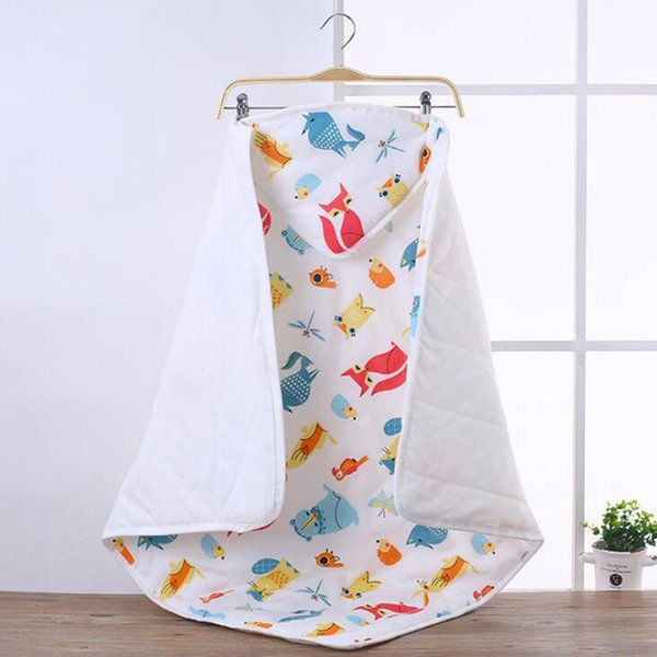 Baby Swaddle Blankets Swaddling hooded blanket newborn baby Sleeping Bag 0-3 month Autumn winter YMM013