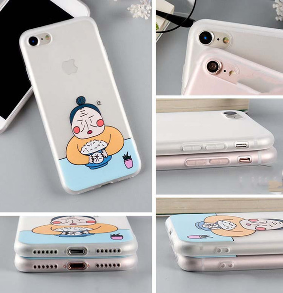 Apply to Apple 7plus mobile phone shell Japanese cartoon character iPhone 6S plus silica gel soft shell cute
