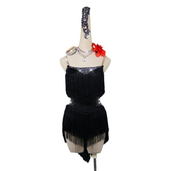 만 블랙 드레스